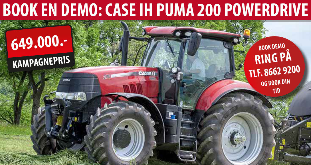 Demo - Puma 200 PowerDrive