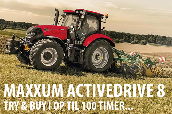 Maxxum Activedrive 8 try & buy