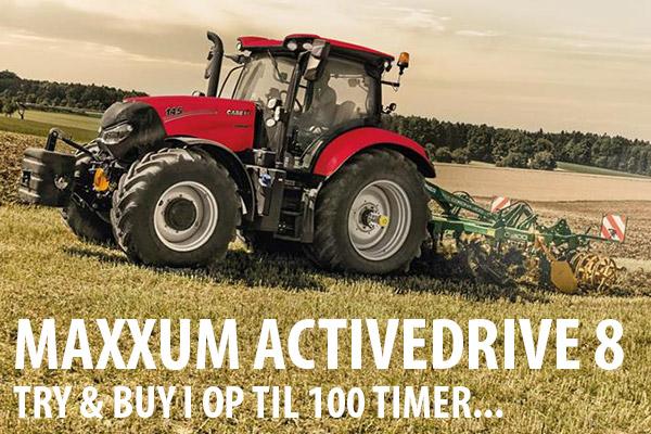 Maxxum Activedrive 8 try & buy