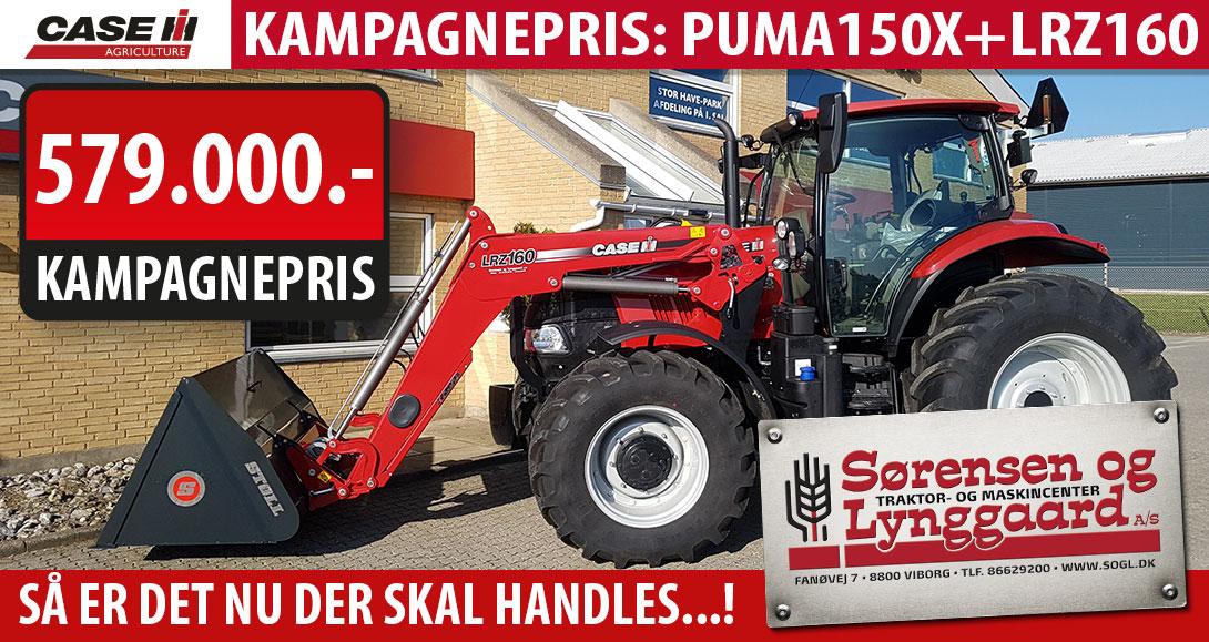 Kampagnepris Puma150 + LRZ160