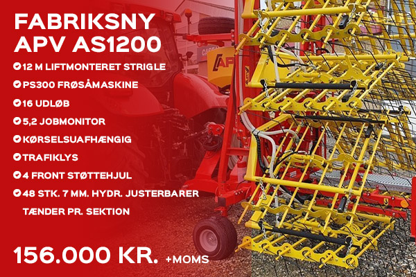 Fabriksny APV AS1200